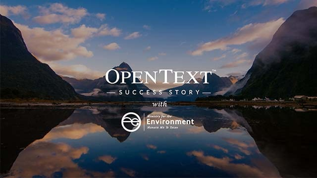 Customer story - Ministry for the Environment, New Zealand