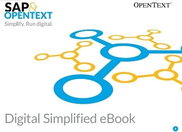 Digital Simplified eBook by OpenText