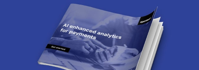 AI enhanced analytics for payments eBook