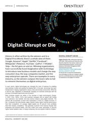 Thumbnail - Digital: Disrupt or Die