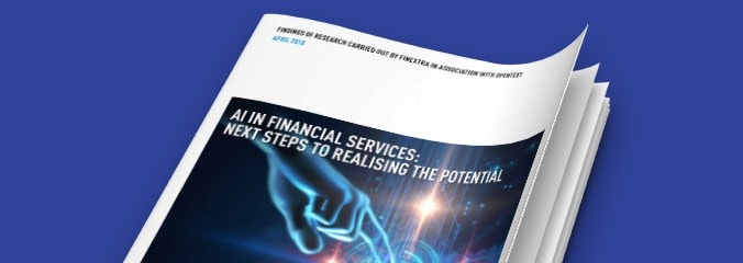 AI in Financial Services: Next Steps to Realising the Potential report