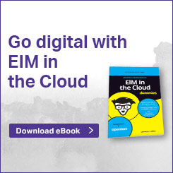 Go Digital EIM the Cloud