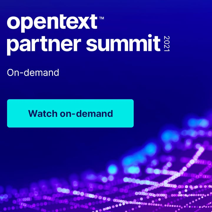 OpenText Partner Summit 2021