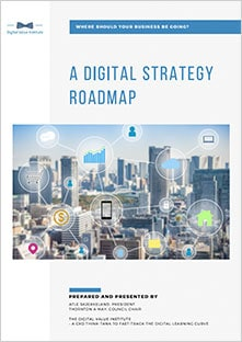 Digital Strategy Roadmap report cover