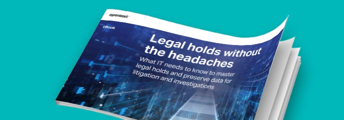 Legal holds without the headaches eBook