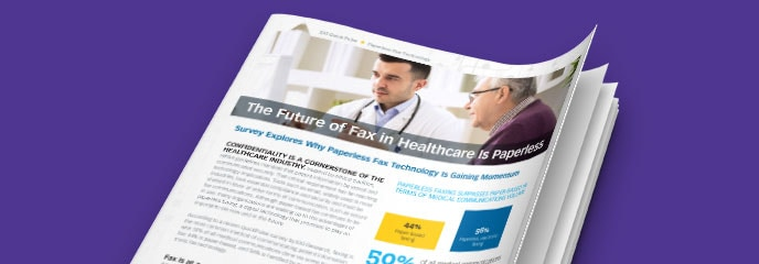 Report - Digital fax solutions for Healthcare industry