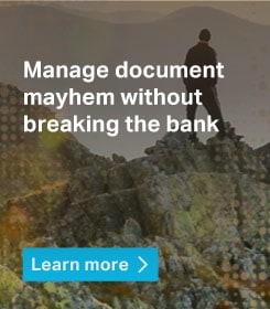 Manage document mayhem without breaking the bank