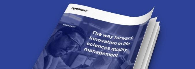 Life Sciences Quality Management Solutions Opentext Core
