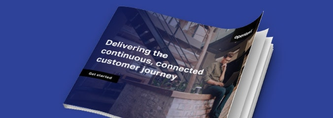 Delivering the continuous, connected customer journey eBook
