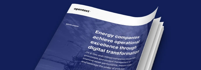 Oil and Gas Solutions | OpenText