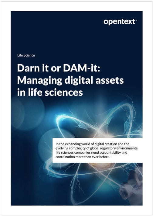Darn It or DAM-IT: Managing Digital Assets in Life Sciences thumbnail