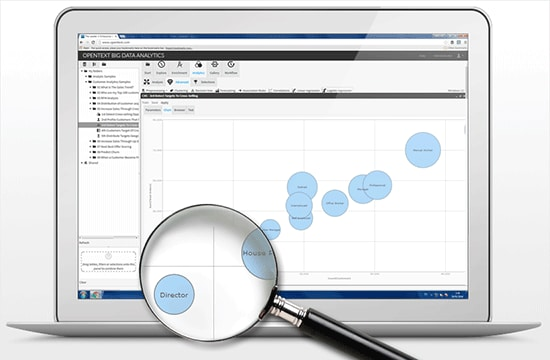 Request a Custom Demo of OpenText™ Big Data Analytics