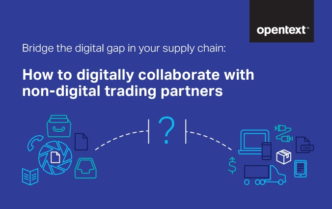 Bridge the Gap in Your Digital Supply Chain