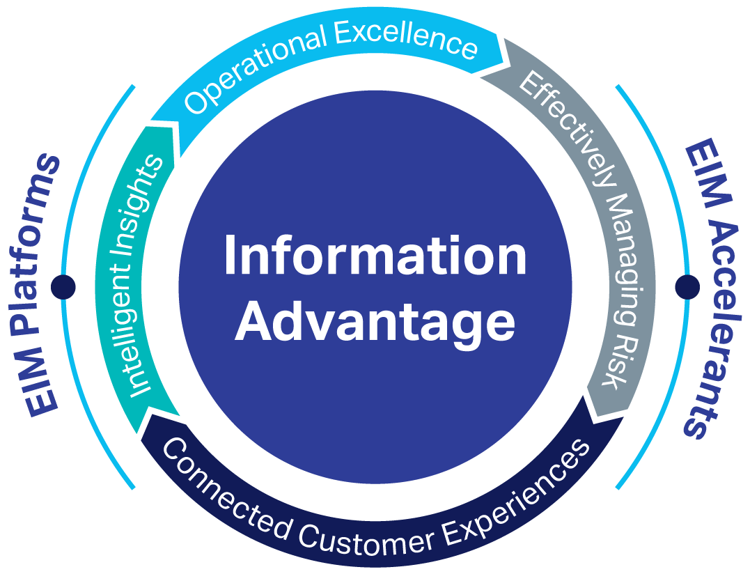 EIM and Information Advantage graphic