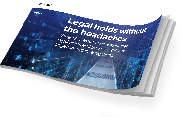 Get the eBook - Legal holds without the headaches