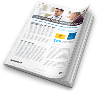 Analyst Brief: The Future of Fax in Healthcare is Paperless