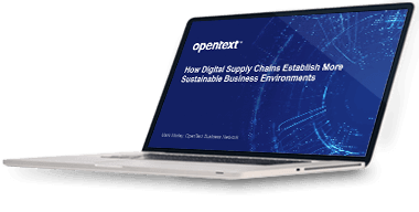 Webinar: How Digital Supply Chains Establish More Sustainable Business Environments