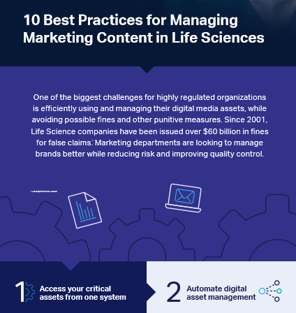 10 best practices for managing marketing content in life sciences
