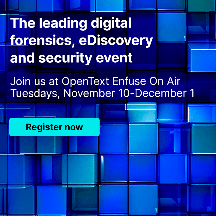 Enfuse on Air 2020 Join us every Tuesday from November 10–December 1 - Register now