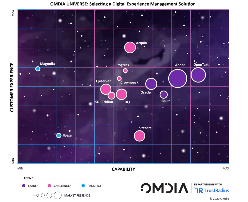 The Omdia Universe for digital experience management